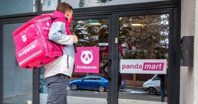 foodpanda România își lansează propriile magazine cu livrare în 30 de minute