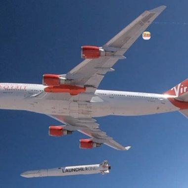 Virgin Orbit al lui Richard Branson, zbor cu succes în spațiu la a 2-a încercare
