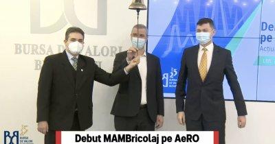 Retailerul MAMBricolaj, listat la Bursa de Valori București pe piața AeRO