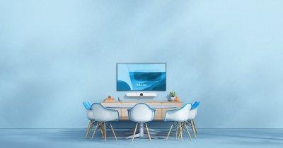 Soluțiile de video colaborare inteligente cresc productivitatea în mediul de lucru hibrid