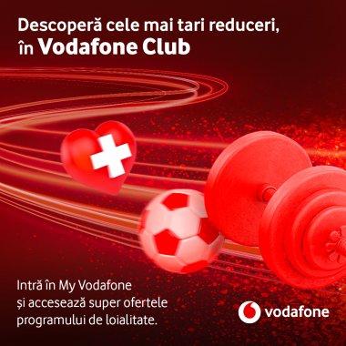 Vodafone lansează beneficiile de loialitate pentru clienți. Ce oferte există