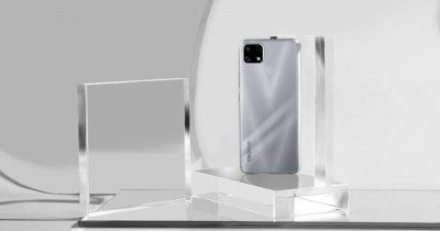 realme 7i, telefonul cu baterie uriașă și preț bun, disponibil în Romania