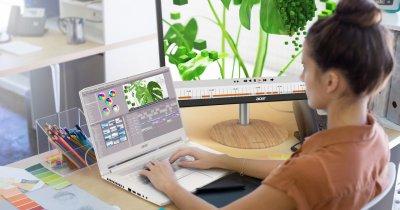 Laptop-urile Acer gama ConceptD, disponibile în România