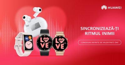 Cadouri de Valentine's Day: Ofertă specială la gadgeturile Huawei