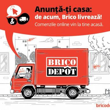 Brico Dépôt își lansează serviciu de livrare la domiciliu pentru comenzi online