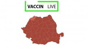 Harta vaccinare în timp real: serviciul neoficial dezvoltat de câțiva sibieni