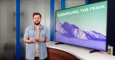 Samsung The Frame: De ce televizorul modern nu trebuie să fie plictisitor?