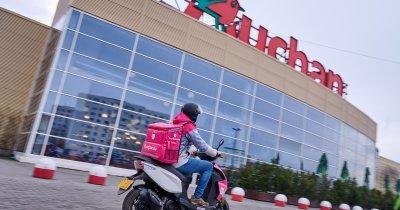 Auchan și foodpanda extind la nivel național parteneriatul pentru livrări rapide