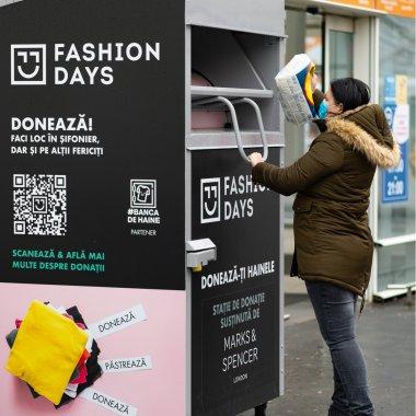 Fashion Days încurajează donațiile de haine și în 2021