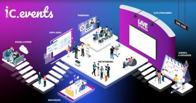 IC Events, platforma ce aduce evenimentele offline în era digitală