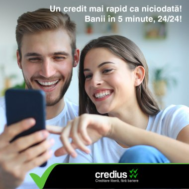 Inovație în creditare. Credius lansează prima tehnologie de creditare care utilizează inteligența artificială
