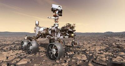 """Misiunea Marte 2020: laserul francezilor de la Thales, """"ochiul"""" lui Perseverance"""