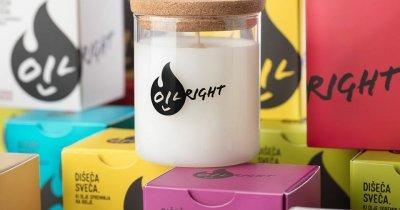 OilRight, lumânări din ulei alimentar uzat și crowdfunding pe consolid8