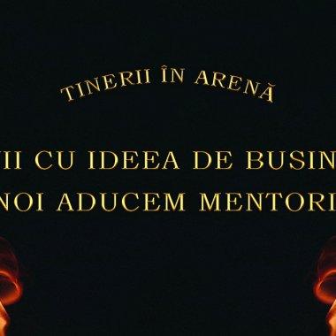 Tinerii își prezintă ideile de afaceri în fața antreprenorilor de top din România
