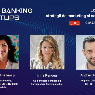 Future Banking Meetups, 9 martie: Strategii de marketing și social media în 2021