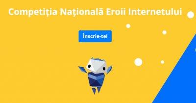 Competiție pentru copii: comportamentul online sigur și intimitatea pe Internet