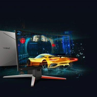 BenQ MOBIUZ EX3415R e un monitor de gaming curbat pentru jocuri de SimRacing