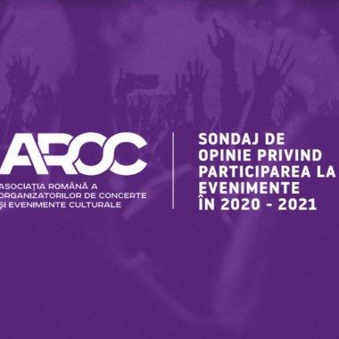 Sondaj AROC: Românii tânjesc după evenimente offline și ar respecta orice măsură