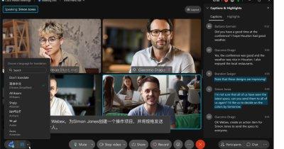 Cisco, funcție de traducere în timp real în platforma de video-conferințe Webex