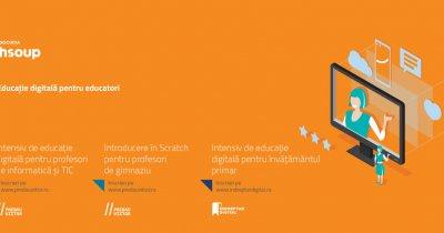 Cursuri gratuite de educație digitală pentru profesori. Înscrieri deschise