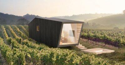 """Gramma Wines intră în nișa de turism viticol în 2021 prin """"tiny premium homes"""""""