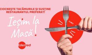 Campania EdenredIeșim la Masă!: 20.000 de mese gratuite la restaurant