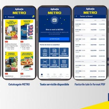 Aplicația METRO înlocuiește cardul clasic în România: Ce funcționalități oferă