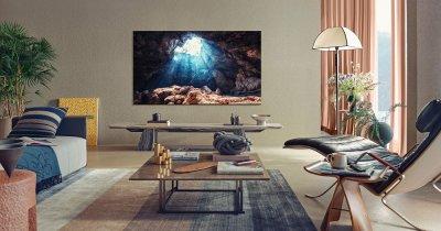 Noua categorie TV Samsung Neo QLED, disponibilă în România. Funcțiile importante