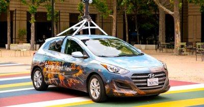 Mașinile Google Street View revin în România... în căutare de noi autostrăzi