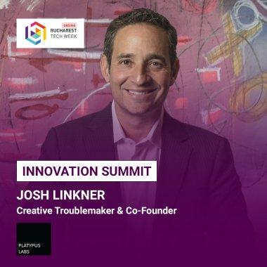 Antreprenorul american Josh Linkner va participa la Innovation Summit