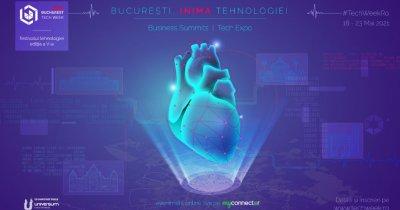 """Bucharest Tech Week, festivalul care transformă Capitala în """"Inima Tehnologiei"""""""