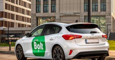 Extindere Bolt în România pe transport auto și cu trotinete & livrare de mâncare