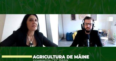 """Ramona Ivan, CEC Bank: """"În agricultură avem nevoie de tehnologie și consolidare"""""""