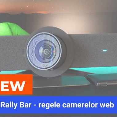 REVIEW Logitech Rally Bar: camera de videoconferințe ultraprofesionale