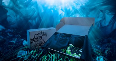 Razer face acum și haine din plastic colectat din oceane