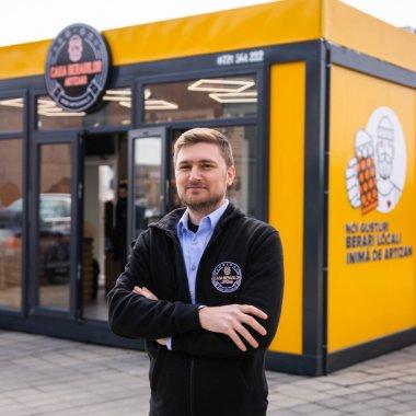 """Franciza Casa Berarilor Artizani - concept de magazin modular """"beer to go"""""""