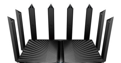 TP-Link a lansat routerul Wi-Fi 6 Tri-Band Gigabit Archer AX90