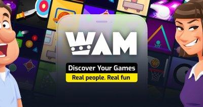 WAM, rețeaua socială de gaming mobil creată de români ajunge la 1 mil. de useri