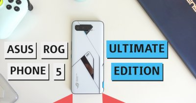 REVIEW Asus ROG Phone 5 Ultimate Edition - cel mai geek phone