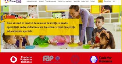 Platformă digitală pentru elevii cu nevoi educaționale speciale din România