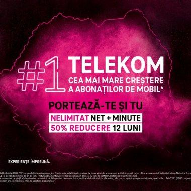 Telekom Romania: Noi oferte pentru consumatori, dar și pentru antreprenori