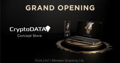 CryptoDATA lansează magazinul cu telefoane și laptopuri cu blockchain