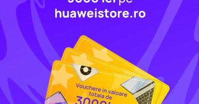 Huawei Store: Lansarea magazinului online aduce premii în vouchere și gadgeturi
