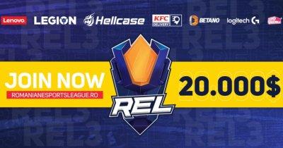 Romanian esports League continuă cu sezonul 3 - Counter Strike profesionist