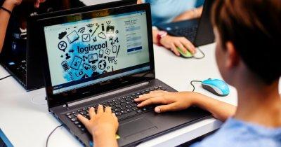 Cursuri programare pentru copii și tineri - Logiscool, creștere de 25% în 2020