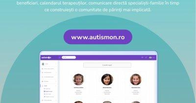 AutismON, platforma digitală pentru accesul copiilor cu autism la terapie