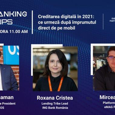Future Banking Meetups: ING, Fintech OS și eMAG despre creditele digitale