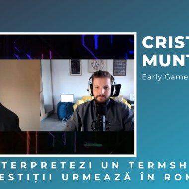 """Cristian Munteanu, Early Game: """"În 2021 vom avea 6-7 investiții Series A"""""""