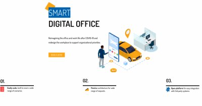 Forte Partners launches the first digital solution for office building resource management
