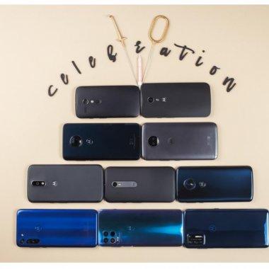 Motorola sărbătorește a zecea generație din cunoscuta gamă moto g